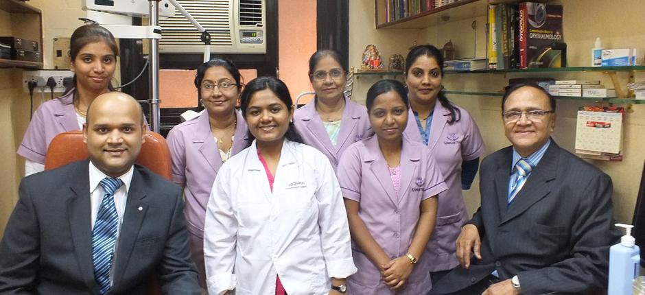 Team of Specialist Eye Doctors in Mumbai