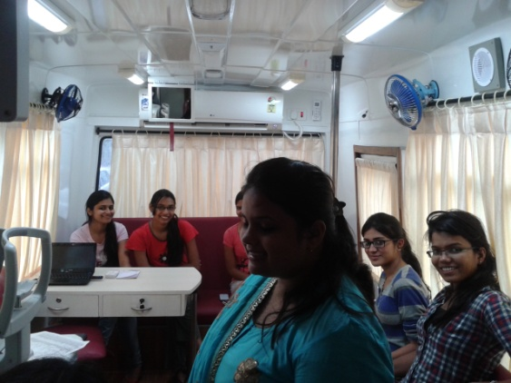 Fifth Mobile Eye care campaign With Vijay Khaitan Girls Hostel, Goregaon on 9th August 2015